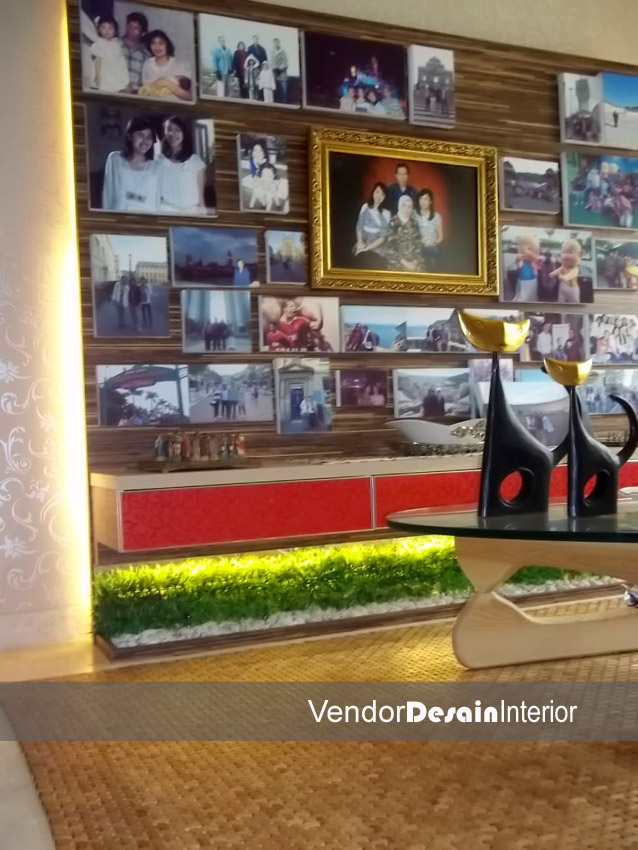 Design Interior Rumah Minimalis Jakarta Pusat Menteng Display Foto
