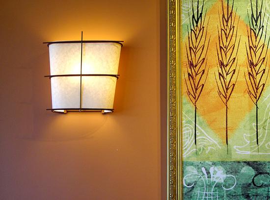 Desain Interior Aksesori untuk ruangan Lampu dinding