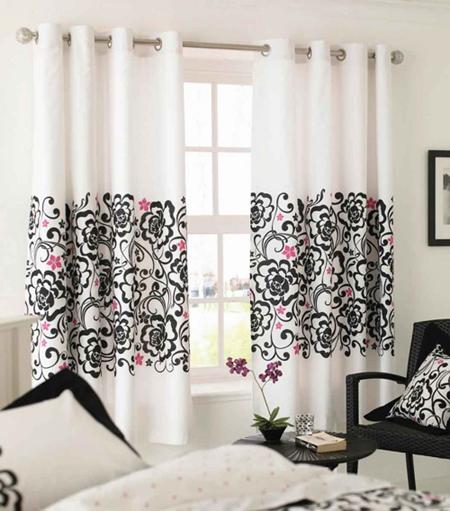 Desain Interior Aksesori untuk ruangan pada Tirai