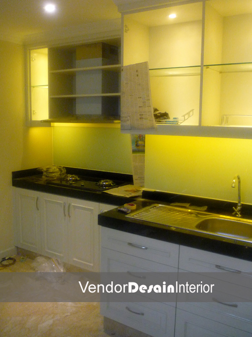 Desain Interior Kitchen set Progress