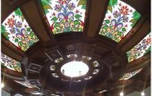 Desain Interior Media Kaca Desain pada Lampu