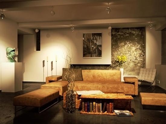 Desain Interior Menata Ruang Keluarga Klasik (2)