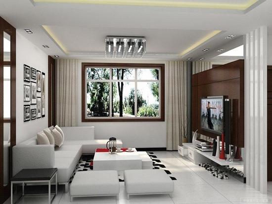 Desain Interior Menata  Ruang Keluarga minimalis