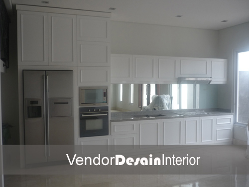 Desain Interior Minimalis Kitchen set