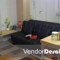 Desain Interior Minimalis Ruang Tamu Apartemen Casa Grande Kuningan