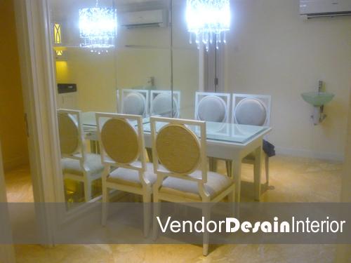 Interior Dapur Minimalis Meja Makan