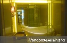 Interior Desain Jakarta Toilet set1 Apartemen Klasik Casa Grande Kuningan