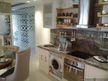 Jasa Desain Interior Jakarta : Kitchen set Apartemen The Mansion Dukuh Golf Kemayoran