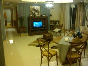 Jasa Desain Interior Jakarta : Ruang Utama Apartemen The Mansion Dukuh Golf Kemayoran