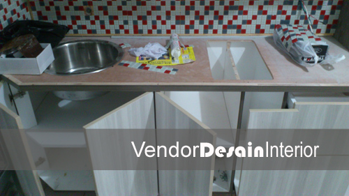 Interior design kitchen set di jakarta for Kitchen set yang baik