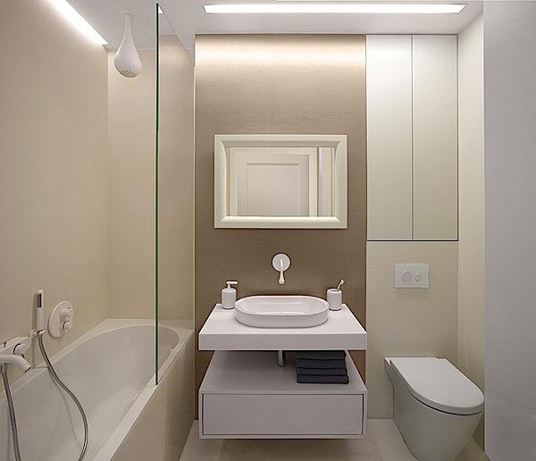 Kontraktor Interior Desain di Apartemen Green Bay Pluit Ancol Bathroom minimalis apartemen