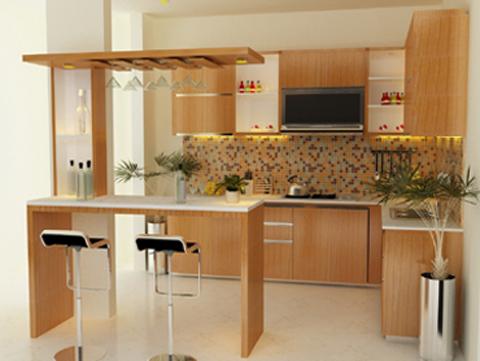 Kontraktor Interior Desain di Kebon Jeruk Pengerjaan Kitchen set