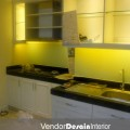 Jasa Kontraktor Desain Interior Kitchen set Progress