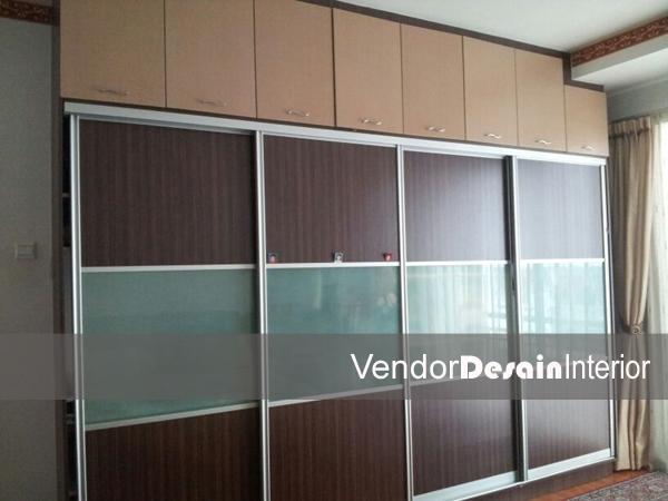 Desain Rumah Minimalis Jakarta Lemari Pakaian Tanam