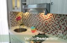 Jasa Kontraktor Desain Interior Gaharu ah Kitchen Set Dapur Apartemen