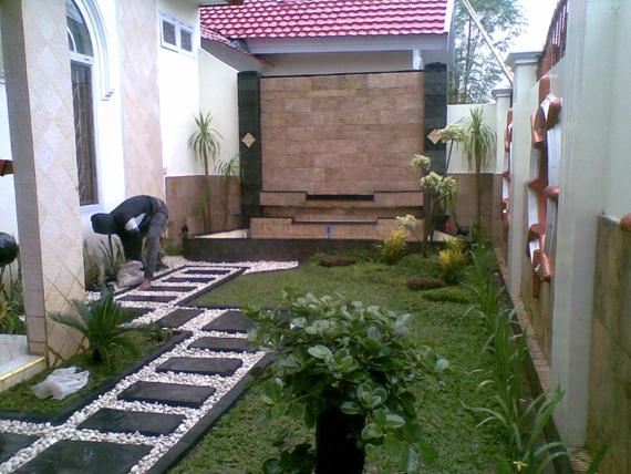 Taman yang cantik di Jasa Interior Desain Jakarta