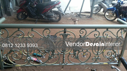Jasa Pagar Besi Tempa Jakarta Pusat