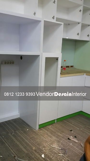 Jasa Kontraktor Interior Kantor Kitchen set