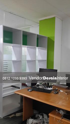 Jasa Kontraktor Interior Kantor lemari kabinet kantor ITDP