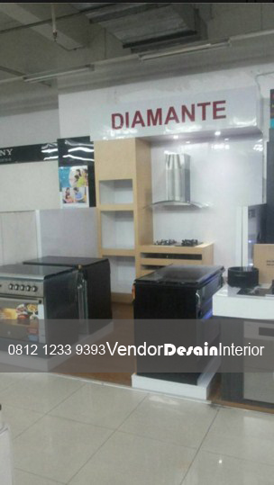 Pembuatan Display kitchen