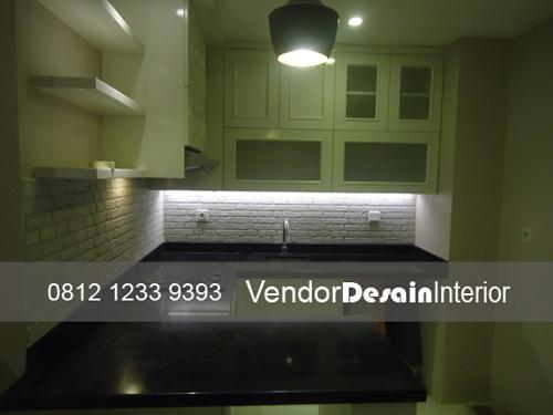 Jasa Kitchen Set Minimalis Apartemen