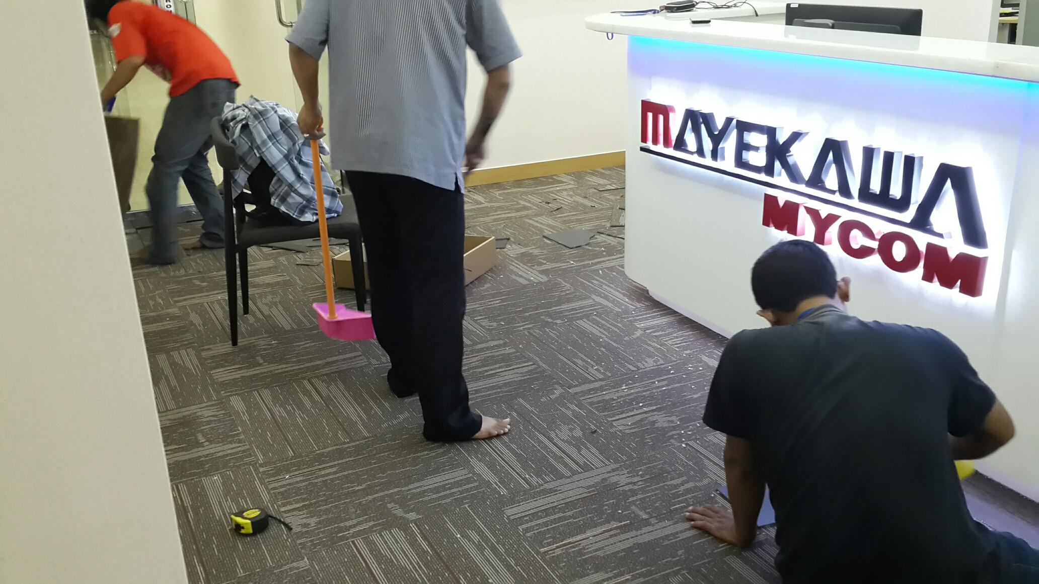 Jasa Pasang Karpet Tile Kantor Jakarta