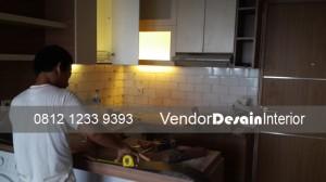 Vendor Desain Interior Jasa Kitchen set Cikarang