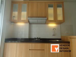 Jasa Kitchen set  Oak Apartemen