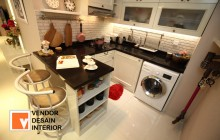 Kitchen set Minimalis Duco