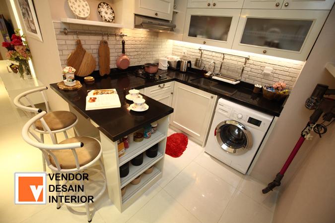 Kitchen set Minimalis Duco Desainer Interior Jakarta