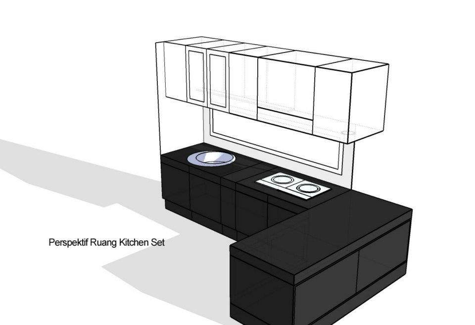 Desain Kitchen Set Cipete