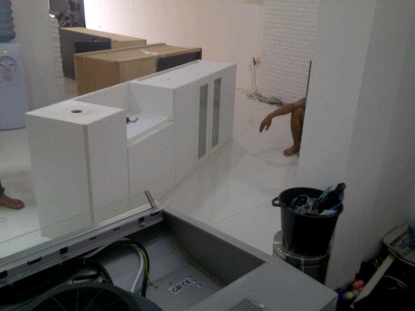 Pantry Kitchen Set Cipete Jakarta