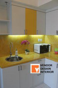 Kitchen Set Modern Minimalis Apartemen Jasa Desain Interior Jakarta