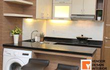 Kitchen Set Minimalis Apartemen Jasa Desain Interior Jakarta