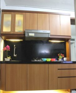Kitchen Set Apartemen Minimalis Bintaro, Interior Kitchen Set Bintaro BSD, Kitchen Set Minimalis Bintaro BSD, Interior Kitchen Set BSD