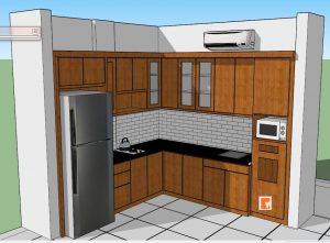 Desain Interior Kitchen Set Duren Sawit Jakarta timur