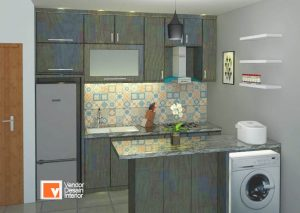 Kitchen Set Apartemen MOI Kelapa Gading