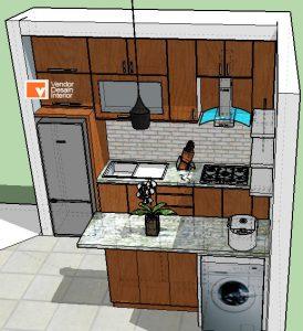 Kitchen Set Minimalis Otista Jakarta tImur