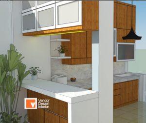 Kitchen Set Minimalis di Jakarta Timur