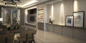 Interior Desainer Dining Room South Gate Tanjung Barat