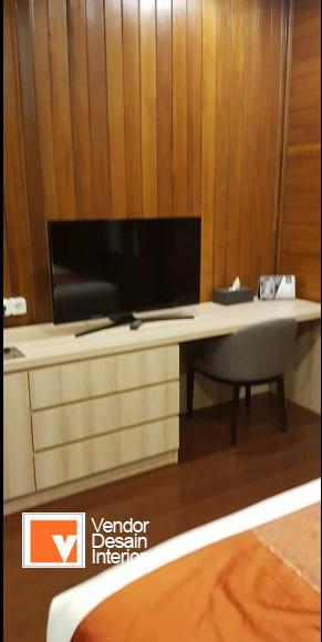 Kontraktor Interior Desain Kamar Villa dan Hotel di Puncak