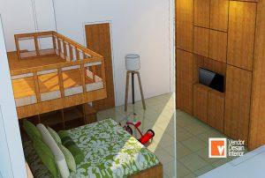 Tempat Tidur Tingkat Cempaka Putih Jakarta Pusat Interior Desain