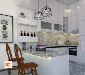 Interior Desain Rumah Mewah Kota Wisata Cibubur