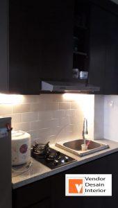 Kitchen Set Interior Desain Apartemen Tifolia Kelapa gading