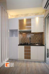 Dapur Kitchen Set apartemen Kalibata City Jakarta Selatan