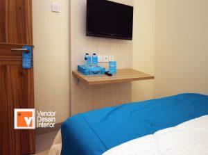 Interior Desain Kamar Tidur Hotel Guntur Residencxe Manggarai Bandung dan Jakarta