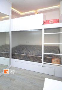 Kamar Tidur Utama Apartemen Kalibata City Jakarta Timur