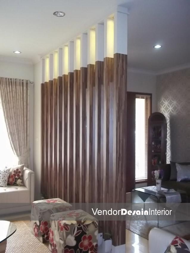 Design Interior Rumah Minimalis Jakarta Pusat Menteng Ruang Tamu