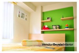 Vendor Desain Interior Apartemen Kalibata City Cendana Ruang Tidur Utama
