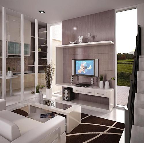 Desain Interior Rumah Ruang Santai